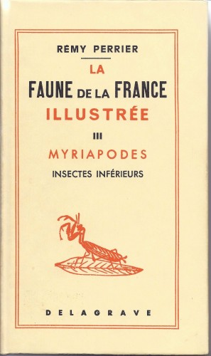 FP Myriapodes. Ins Inf